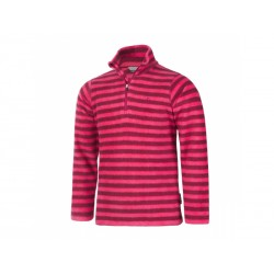 Ruler micro fleece pulli AOP vel. 116 436 (Beet Red)