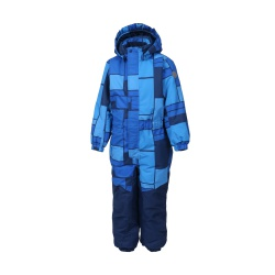 Klement padded coverall AOP vel. 110 1151 (Blue Sea)