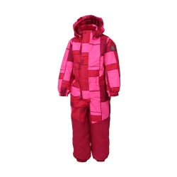 Klement padded coverall AOP vel. 98 4166 (Sparkling Cosmo)